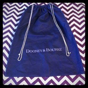 Dooney and Bourke dust bag